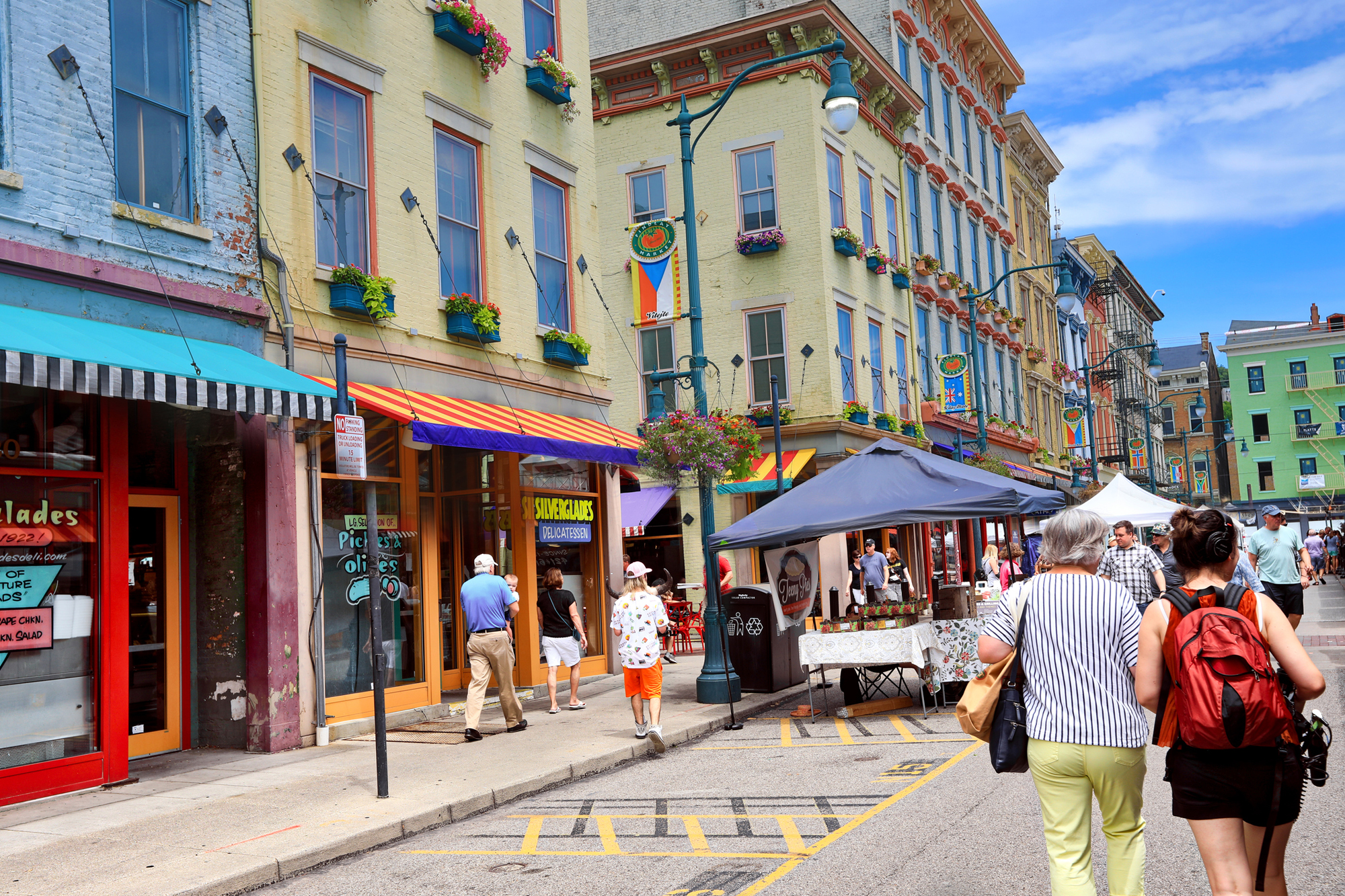 Findlay Market In Cincinnati Ohio Is A Por Farmers And Restaurant Area The Trendy Over Rhine Shaker Heights