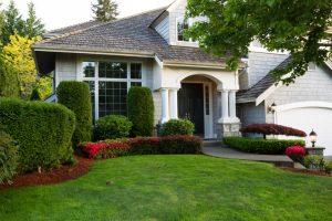 Clean exterior home